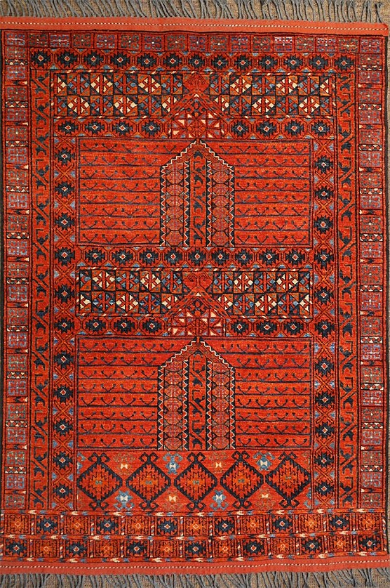 Handmade Turkmen Rug