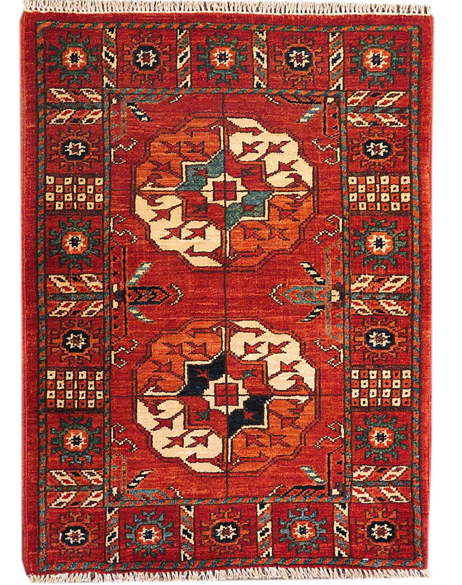 Original Handmade Turkmen Carpet