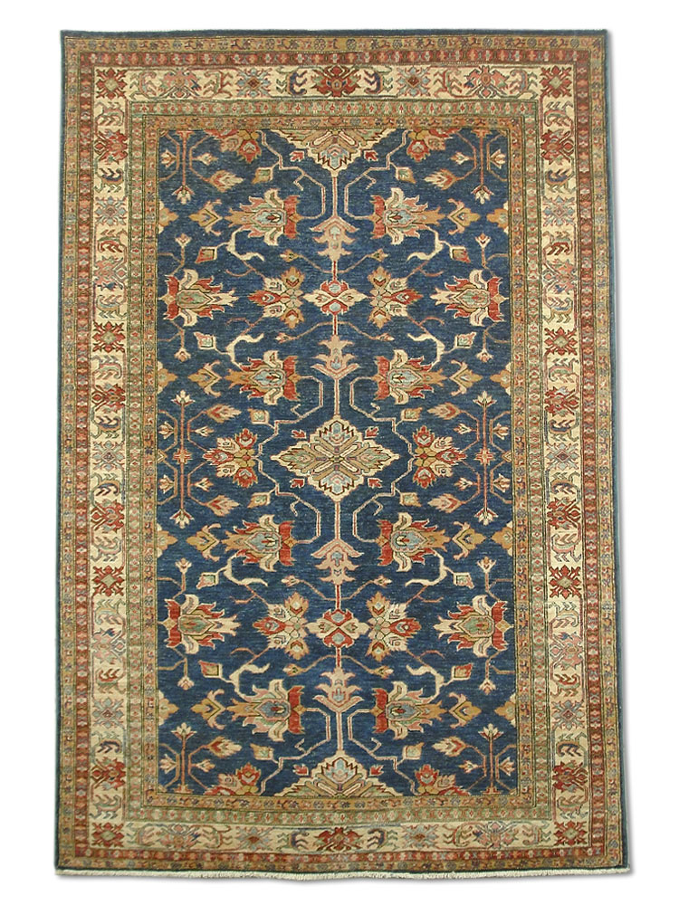 Afghan Rug - Two Main shades